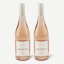 Two bottles of Les Amourettes, Rosé